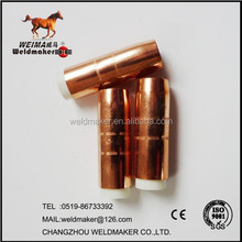 WMBernard nozzle 4591 copper nozzle used with 4435&4635 gas diffuser