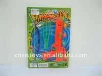 Plastic bow and arrow gun/plastic toy