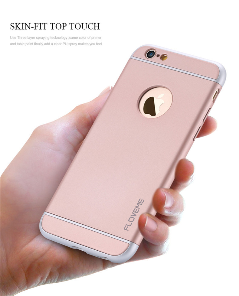 FLOVEME 2016 Online CES USA Hot Products pc Mobile Phone Case Cover for Apple IPhone 6S 6S Plus 7 7 Plus