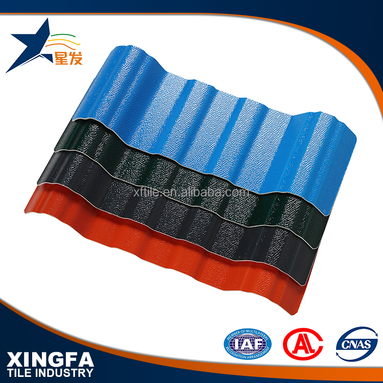 Wholesale roofing shingles/asa composite roof tiles/trapezoid asa+pvc roof sheet