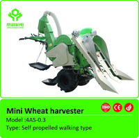 Hot sale rice paddy wheat corn harvester/paddy mini combine harvester