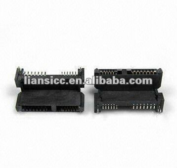 SATA 7+6pin Connector SMT female