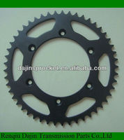 dajin standard motorcycle sprocket kits/motorcycle sprocket for honda / motorcycle chain sprocket