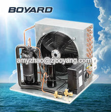 CE RoHS R22 refrigerant condensing units for pastry equipment with vertical rotary compressor