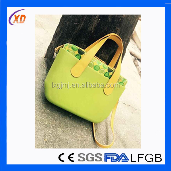 2016 Fashion Custom Wholesale Lady Hand Bag PVC Transparent Women beach bag