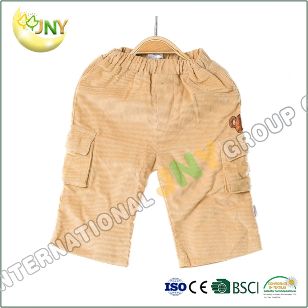 Wholesale Children Factory Price Trousers High Waist Stretchy Pants For Boys