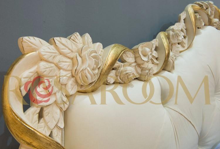 Rococó italiano dormitorio muebles clásicos de madera maciza ...