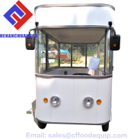 Business Electric Burger/Beverage/Ice Cream Trailers Burger Van For Sale