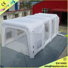 spray bake paint booth, plastic small paint booth