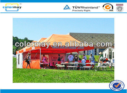 metal pop uptents, advertising tents, promotional tents