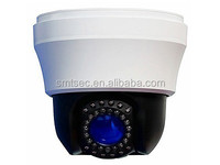 480 TVL Support HLC,Mirroring,BLC,AWB RS-485, 256 pcs Presets Mini 10X Zoom PTZ IR high speed dome CCTV camera(SC-SP13E)