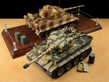 Tiger RC tank model with Sound Features Supports