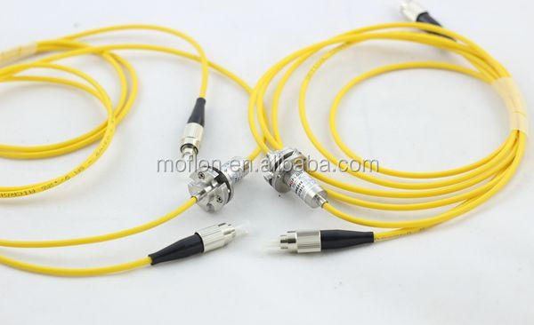 MFO100 (1 channel FORJ) fiber optic rotary joint car fiber optic novelty fiber optic
