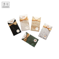 Stock Holiday Gift Luxury Chinese Happy Birthday Invitation Cards With Envelope