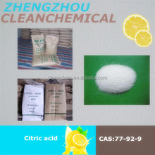 Clean Chemical fast delivery and goods in stock 99%min Food Grade Citric Acid Monohydrate / Citric Acid Anhydrous