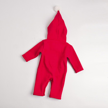 Baby thick warm body suit in autumn and winter clothes out of Christmas Thicken romper