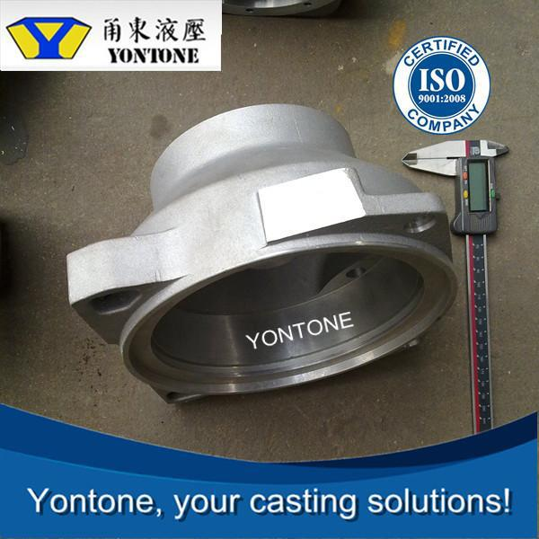 Yontone With Machining Ability Mill ZL111 ADC12 aluminum sand casting street lighting pole base