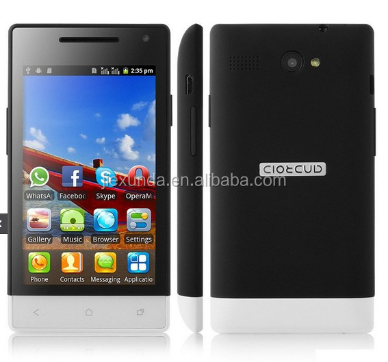 M-HORSE H3039 unlocked cell phone 4 inch touch screen sp6820 single core dual sim phone