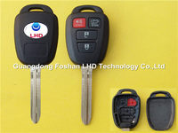 4 Button Remote Key Shell Case Fob for Toyota Camry Corolla Toy43