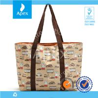 Portable large volume tote baby bag