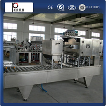 CE standard manufacture full automatic yogurt cup filling sealing machine