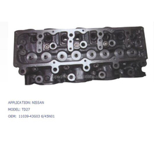 CYLINDER HEAD SERIES USED FOR NISSAN MODEL TD27 OEM 11039-43G03 6-45N01