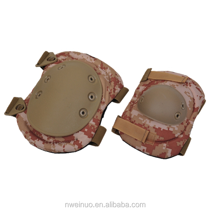 Custom Tactical Airsoft Paintball Equipment Knee Elbow pads