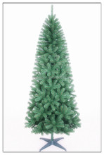 PVC Handmade Christmas Tree Wholesale PE Tree/Unique Artificial Christmas Trees With Silm Styles and Fristed Needle Pine