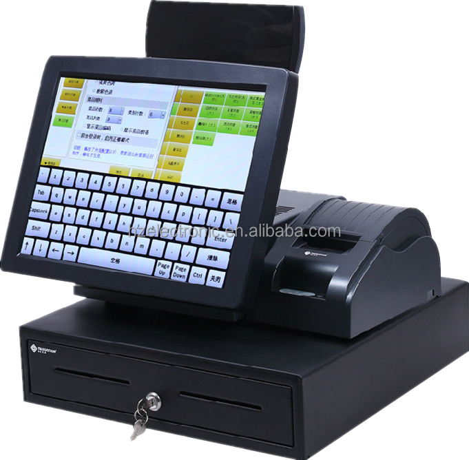 fiscal top quality waterproof cash register