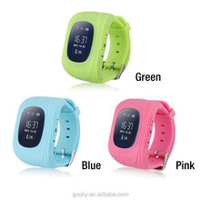 android hand wrist children watch q50 kids gps watch phone with sos