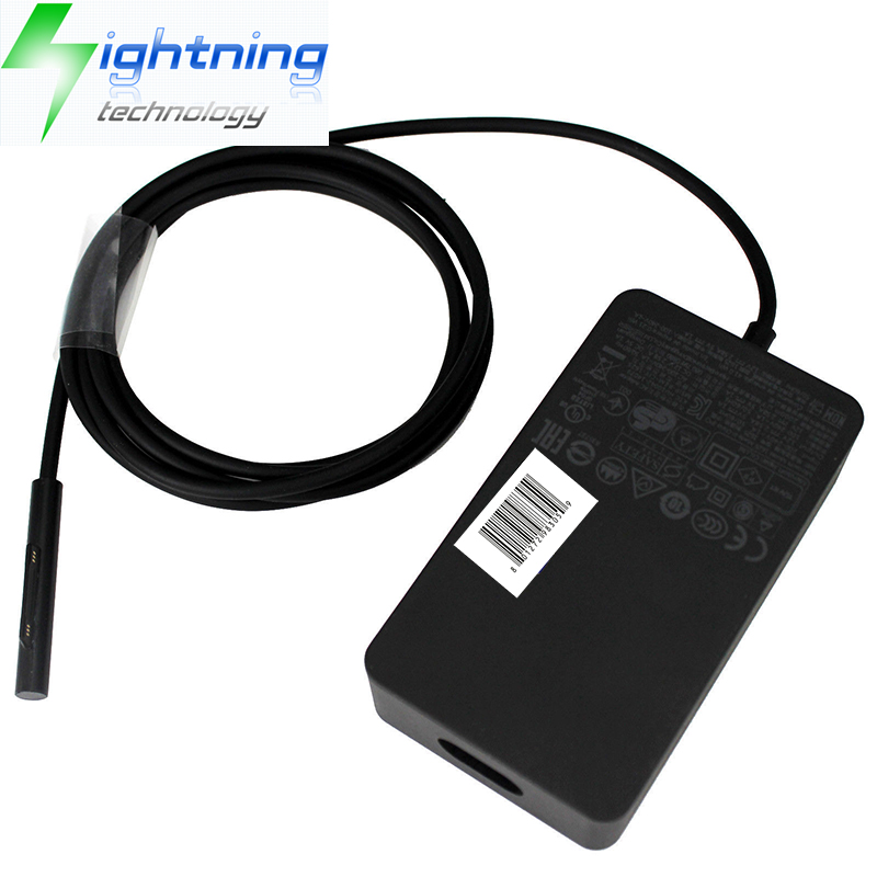 36W For Microsoft Surface Pro 4 3 Power Supply 1625 Adapter 12V 2.58A Charger US