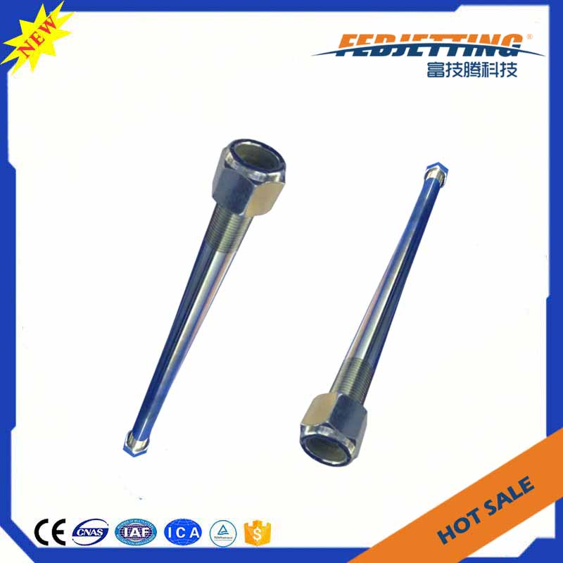flow waterjet cutting machine pump intensifier parts tie rod nut for dardi cutter