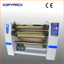 FQ-LF1320 KOPY 4 Shaft Automatic Adhesive Tape Log Roll Cutting Slitting Machine