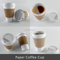 2017wholesale custom logo printed 16oz 480ml 8 oz 280ml European paper coffee cup, 10oz 350ml 12oz 420ml new paper cup product