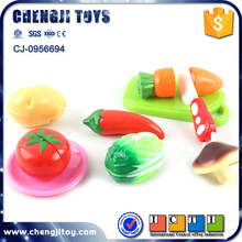 9pcs vegetable set plastic cooking toy play food for kids