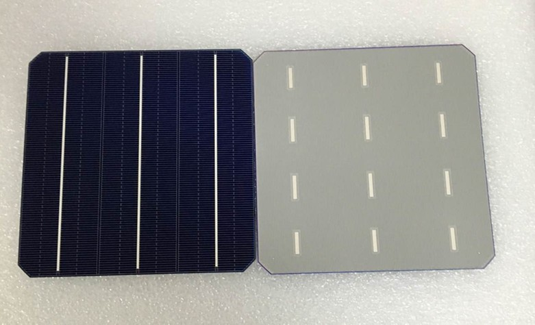 NSP monocrystalline A grade photovoltaic 6inch solar cell bulk in stock