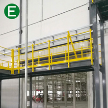 Warehouse Storage Adjustable Steel Structure Mezzanine Working Platform