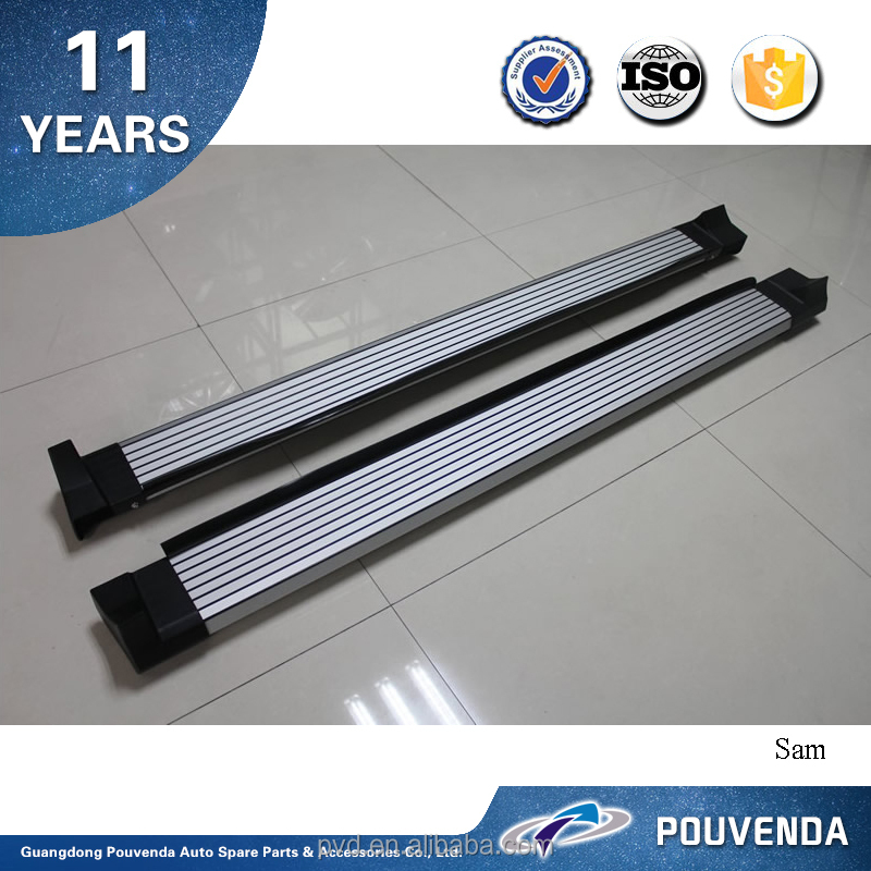High Quality Aluminium running board for 2013+ Toyota RAV4 side step silver color