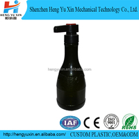 factory make blow moulding HDPE custom plastic bottles 400ml
