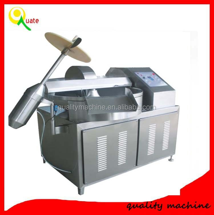 Long time working cutter mixer machine for meat and vegetable cutting with high quality