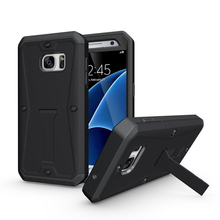 Robot Full Protecting Hybrid Cover Stand Phone Case for Samsung Galaxy s7
