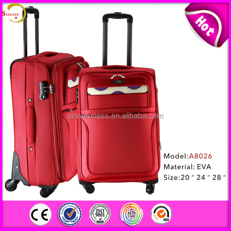 Factory Price Outside Trolley Eva Luggage Bags