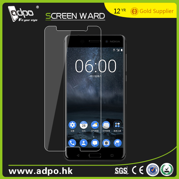 2017 New Wholesale for Nokia 6 tempered glass screen protector