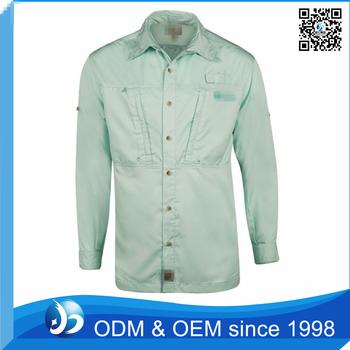 Custom men 39 s breathable uv protection fishing shirt buy for Uv protection fishing shirts