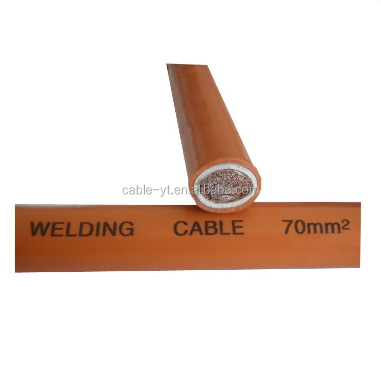 single core pvc/rubber insulated 25 50 70mm2 welding cable