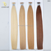 Popular Product Double Drawn Thick Bottom Italy Keratin No Tangle No Shedding tipping body