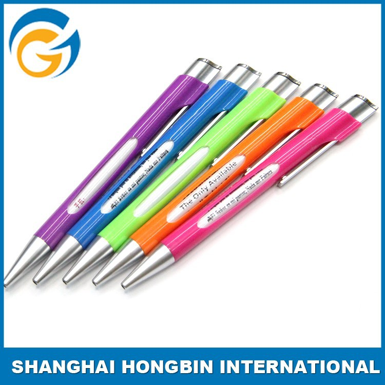Window Message Promotional Ball Point Pen Specifications