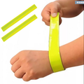 Reflective Snap Wrap Wristband For Promotion