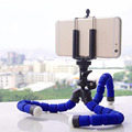 Octopus flexible mini selfie stick phone tripod with stand
