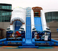 Christmas jumper used playground slides custom inflatable slides for sale C1012